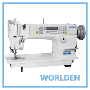 Wd-722 High Speed Needle Feed Lockstitch Sewing Machine with Auto-Trimmer pictures & photos