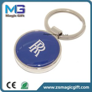 Free Sample High Quality Enamel Metal Car Keychain pictures & photos