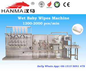 Full Automatic Wet Tissue Folding Machine (HM-ZD680A)