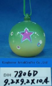 Christmas Tree Decorative Ceramic Hanging Ball pictures & photos