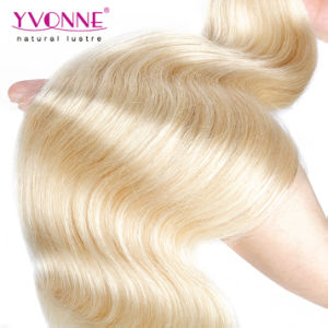 Blonde Peruvian Hair Wholesale Remy Human Hair Weft pictures & photos