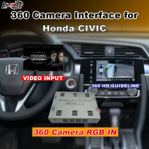 Rear View & 360 Panorama Interface for 2016 Honda Civic Accord with Lvds RGB Signal Input Cast Screen pictures & photos
