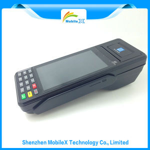 Mobile POS with Android OS, Barcode Scanner, EMV, PCI pictures & photos