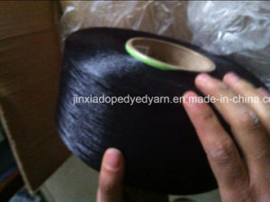 Polyester Filament Yarn Dope Dyed 75D/36f FDY pictures & photos