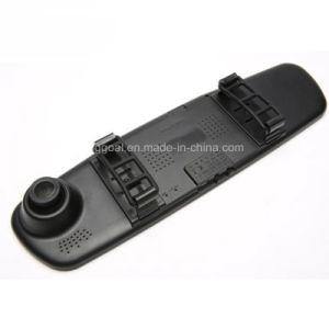"4.3"" Rearview Mirror 1080P Car DVR Dual Lens Video Recorder Dash Cam pictures & photos"