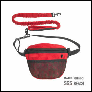 Extendable Hands Free Running Waist Pet Dog Leash with Bag pictures & photos