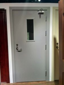 Commercial Used Fireproof Steel Door pictures & photos