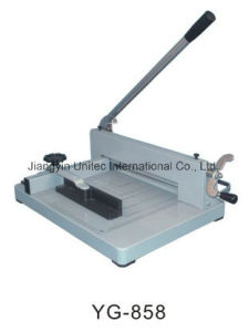 2016 New Products Manual Paper Cutting Guillotine Machine Yg-858 pictures & photos