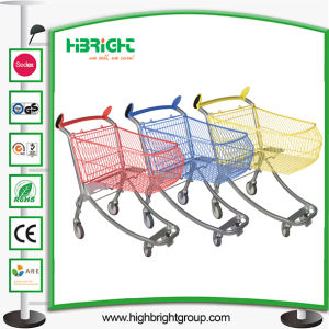 Wholesale New Style Supermarket Shopping Trolley pictures & photos