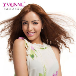 Color #2 Brazilian Human Hair Lace Front Wig pictures & photos
