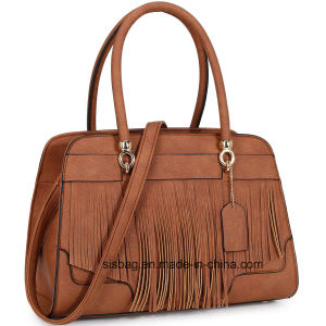 Designer PU Tassel Women Fashion Handbags pictures & photos