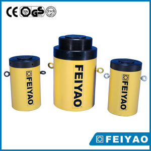 High Tonnage Load Return Lock Nut Hydraulic Cylinder Jack Fy-Cll pictures & photos