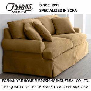Classical Style Coffee Color Fabric Sofa Hotel Furniture M3015 pictures & photos