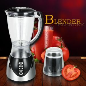 Hot Sale Low Price CB-B731HP Silver Chrome Finish Body 3 Speeds Electric Blender pictures & photos
