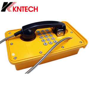 Underground Mine Telephone Weatherproof Phone Outdoor Telephone Knsp-09 pictures & photos