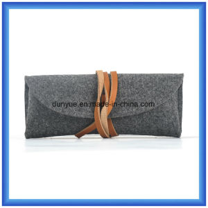 Simple Factory OEM Wool Felt Casual Handbag, Small Promotional Gift Packing Carry Bag pictures & photos