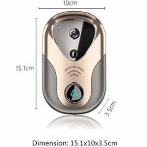 New Design 720p WiFi Doorbell IP Camera for Home Security pictures & photos