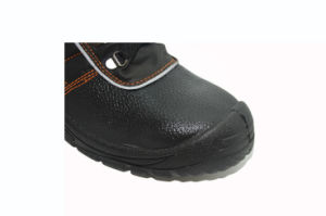 Steel Toe Smash-Proof Puncture-Proof Genuine Leather Safety Shoe pictures & photos