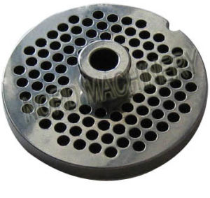 Stainless Steel Meat Mincer/Grinder Plate with Hub pictures & photos