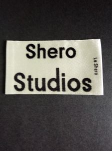 Satin Quality Garment Main Woven Label pictures & photos