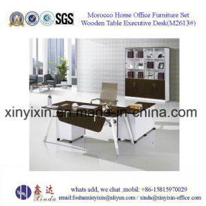 Guangzhou Wood Furniture Metal Legs Executive Office Desk (M2601#) pictures & photos