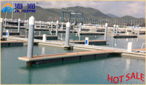 Hot Sale and Stable Aluminum Alloy Frame Floating Pontoon pictures & photos