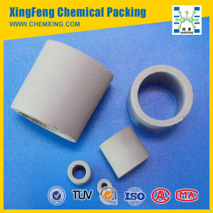 Ceramic Raschig Ring Packing in Excellent Acid and Heat Resistance pictures & photos
