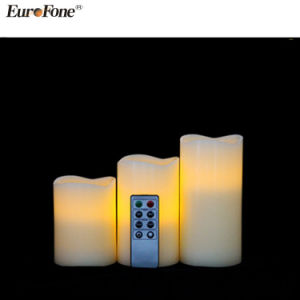 2017 Wax LED Candle with Remote pictures & photos