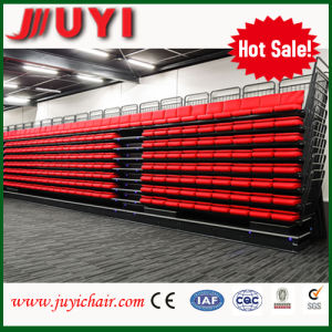 Jy-768 Red Fold Seats Moveable Seating De France Retractable Seats Indoor Mobile Retractable Seating System,Retractable Bleacher ,Telescopic Grandstand for Spor pictures & photos