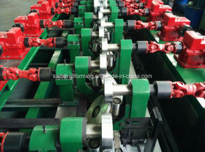 C and Z Interchangeable Roll Forming Machine for Building in High Speed pictures & photos