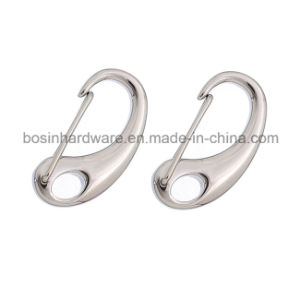 Polished Stainless Steel Lobster Clasp for Leather Bracelet pictures & photos