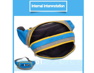 Sport Running Waist Pocket Phone Pouch Belt Bag for Runners (BF1610024) pictures & photos