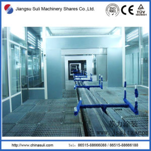 China Suli Shares Automatic Powder Coating Production Line
