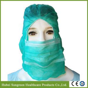 Disposable Non-Woven Balaclava Hood with Face Mask pictures & photos