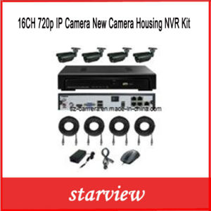 16CH 720p IP Camera New Camera Housing NVR Kit pictures & photos