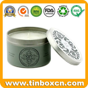 Round Tin Travel Can, Everyday Tin Box, Metal Candle Can pictures & photos