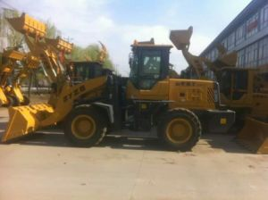 Diesel Forward Wheel Loader of 3t pictures & photos