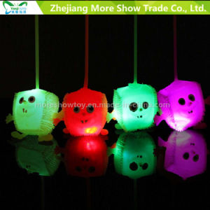 Light up Soft Plastic Spike Sponge Ball Educational Toy pictures & photos
