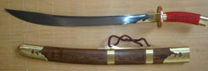 Chinese Broadsword for Cutting Practice/Oxtail Dao pictures & photos