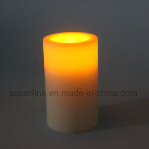 Romantic Small Flameless Plastic Battery Electric Artificial Church LED Candles pictures & photos