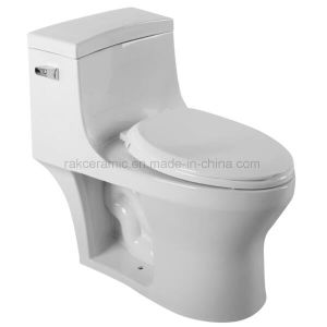 2017 Map Certification Ceramic Toilet for North America pictures & photos