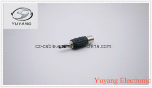 Black 3.5mm Mono Plug to RCA Jack pictures & photos
