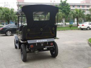Hot Sale Elegant Design Resort Antique Electric Club Car Passenger Car pictures & photos