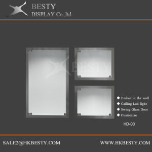 Jewelry Wall Display LED Box for Luxury Jewelry Store pictures & photos