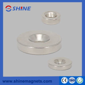 High Performance Rare Earth Neodymium Magnet with Countersink for Industrial Area pictures & photos