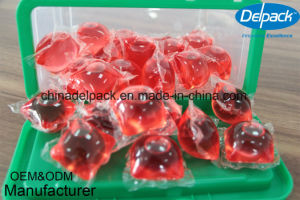 OEM&ODM Washing Liquid Detergent Capsule, Laundry Liquid Detergent Pod, Super Concentration Washing Laundry Detergent pictures & photos