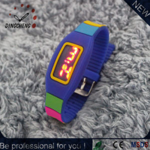 Silicone LED Watches Bracelet Wristwatch (DC-2149) pictures & photos
