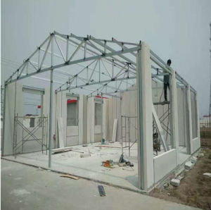 Modular Steel Frame Structure Family House Social House pictures & photos
