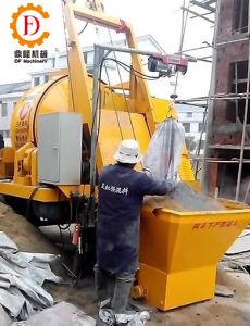 Jzcp200-500 Portabel Electric Cement Drum Mixer with Pump pictures & photos