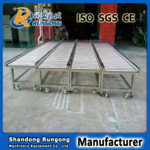 Gravity Bend Roller Conveyor for Refrigerator Producion Line pictures & photos